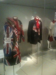 Brighton Museum 'Fashion and the Flag exhibition' Jacket and Waistcoat embellished for the Limited Edition Campaign was displayed alongside the likes of Alexander McQueen, Vivienne Westwood, Jasper Conran and John Rocha, to name a few.