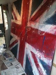 Work in progress for the Jermyn Street window
