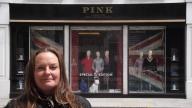 Me outside the Sloane Window