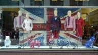 Madison Avenue, New York original works shipped from the UK for Jubilee/Olympic windows 2012