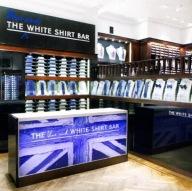 White Shirt Bar - turned blue using my flag painting 2015