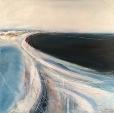 Yaverland (again!) - Acrylic on canvas